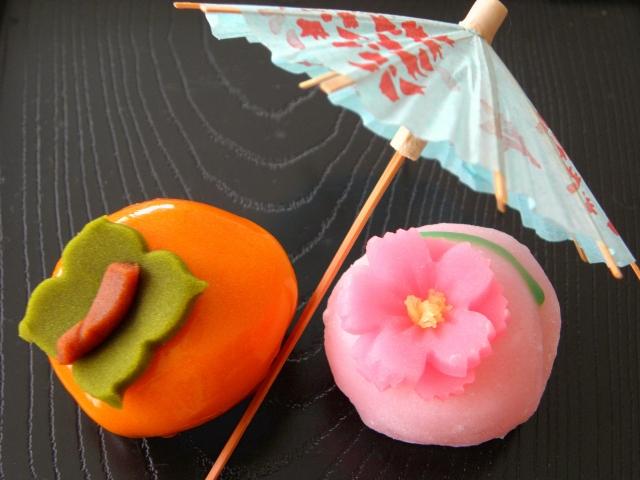 父の日のプレゼントはおいしい和菓子 花スイーツセットと抹茶菓子