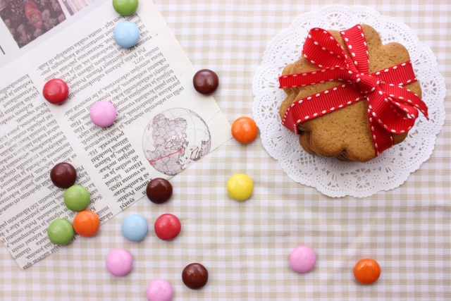 バレンタインのかわいいきれいなチョコレートの画像