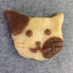 型なしクッキーかわいい動物の作り方~生地2色組み合わせてやってみた